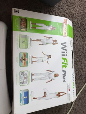 Wii fit plus for Sale in Smyrna, TN