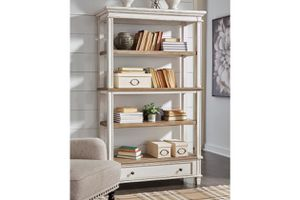 Ashley - Realyn - Brown/White - Bookcase. for Sale in Tampa, FL