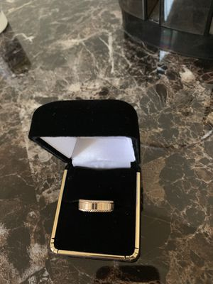Men's 14 K Gold Ring Size 7 (With Proof of Buy, Cost, and Making) for Sale in Chevy Chase, MD