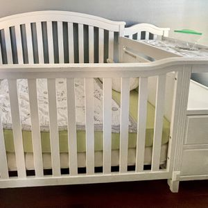 Baby Crib (white) for Sale in Alexandria, LA