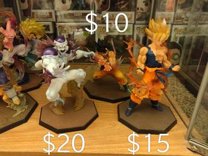 Dragon Ball z statues toy for Sale in Riverside, CA