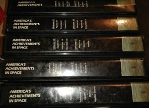 Americans achievement in space volumes 1 through 10 on VHS for Sale in The Villages, FL