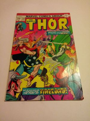 The mighty Thor #196,212,234-251 silver age comics for Sale in Chicago, IL