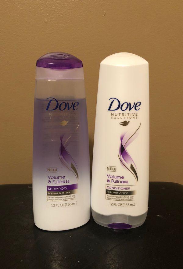 Dove shampoo and conditioner