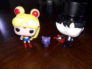 Sailor moon set funko for Sale in Bellwood, IL