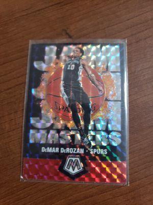 DEMAR DEROZEN MOSAIC JAM MASTERS CARD for Sale in Phoenix, AZ