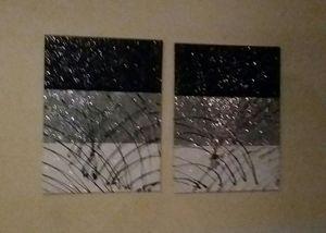 2 piece sparkling home decor set for Sale in Smyrna, GA