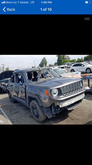 2017 Jeep renegade 4x4 parts for sale for Sale in Los Angeles, CA