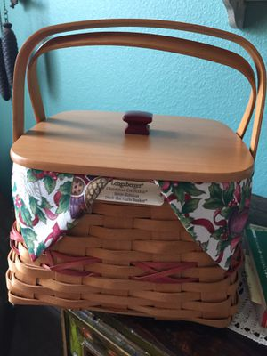 Longaberger basket for Sale in Schertz, TX