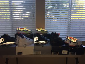 7 pairs of Nike and Jordan shoes(All brand new) for Sale in Oxnard, CA