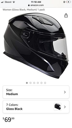 Motorcycle helmet selling as is $20 cash look at all the pictures read the description for Sale in Stone Mountain, GA