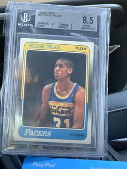 Reggie Miller Rookie BGS 8.5 for Sale in South San Francisco,  CA