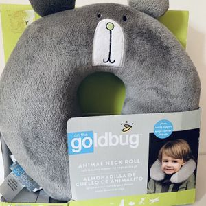 On the Goldbug™ Bear Animal Neck Roll Travel Pillow, Toddler Neck Support for Sale in Pineville, LA
