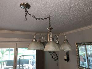 Big silver chandelier for Sale in Hendersonville, TN