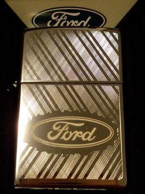 Zippo Ford script in oval logo 29892 for Sale in Los Angeles, CA