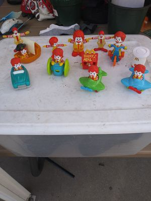 Collectables ronald macdonald toy i have alot different ones 2.00 each for Sale in Stockton, CA