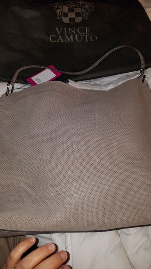 New beautiful leather/Suede Vince Camuto Hobo Hand Bag $180 OBO for Sale in Chula Vista, CA