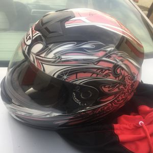 Motorcycle helmet with extra face shield for Sale in Atlanta, GA