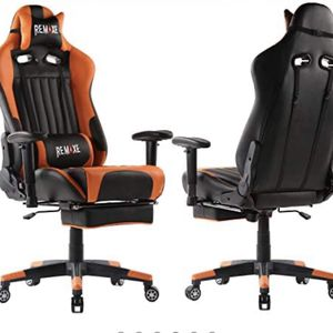 High Back Ergonomic Gaming Chairs PC Gaming Chair Computer Racing Chair Office Chair Desk Chair Video Gaming Chair Swivel Executive Leather Chair with for Sale in Hacienda Heights, CA