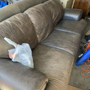 Italian Leather Couch for Sale in Tacoma, WA