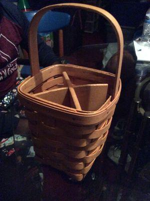 Longaberger basket for Sale in Ellicott City, MD