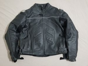 Motorcycle Leather Jacket with armor for Sale in Chicago, IL