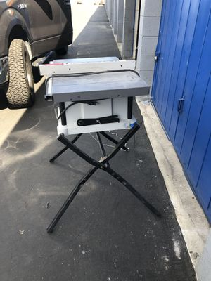 "porter cable 10 "" table saw. for Sale in Westminster, CA"