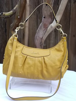 Coach crossbody all leather handbag for Sale in Arlington, TX