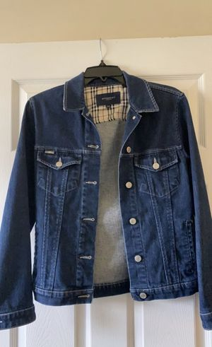 Burberry London Jean Jacket for Sale in Silver Spring, MD