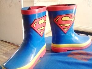 SUPERMAN RAIN BOOTS for Sale in Ontario, CA