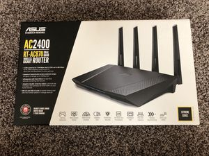Asus AC2400 wireless gigabit router for Sale in Frisco, TX