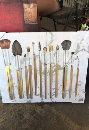 Makeup Brush Canvas for Sale in Littleton, CO