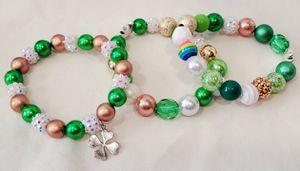 Cute Saint Patrick's Day stretch bracelets for Sale in Rainier, WA