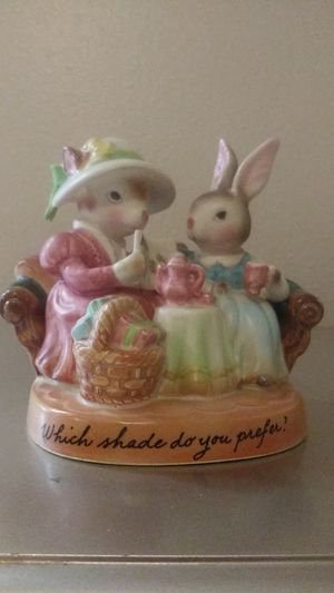 Vintage Avon Precious Moments Rabbits Figurine for Sale in Troutdale, OR