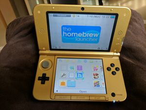 Nintendo 3DS XL - Zelda Special Edition w/Homebrew for Sale in Fort Lauderdale, FL