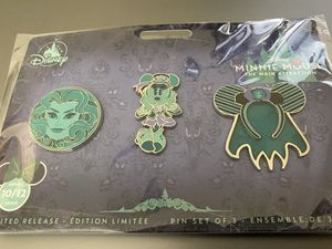 The Haunted Mansion Pins Disney Minnie Mouse Main Attraction for Sale in Brentwood, CA