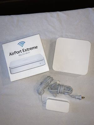 Apple AirPort Extreme Model A1301 Wi-Fi Base Station 802.11N Wireless Router for Sale in Portland, OR