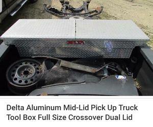 Delta full size truck tool box for Sale in Kearns, UT