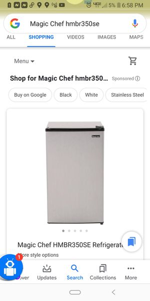Magic Chef HMBR350SE Refrigerator (53) for Sale in West Valley City, UT