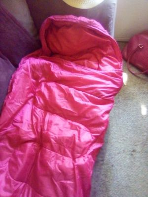 Red sleeping bag for Sale in Yuba City, CA