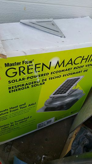 Masterflow...solar roof vent for Sale in Whittier, CA