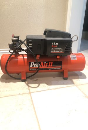Compressor 3 gallon Divilbis pro air ll for Sale in Gresham, OR