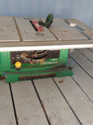Hitachi table saw for Sale in Springfield, OR