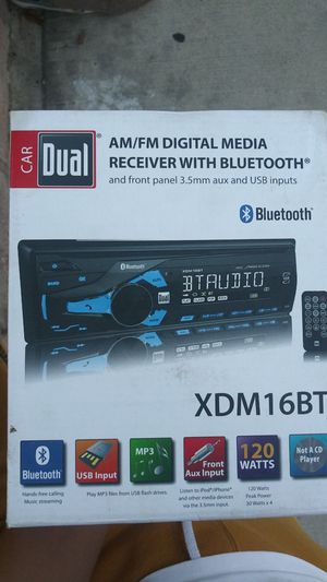 Car Digital Media Receiver with Bluetooth for Sale in Los Angeles, CA