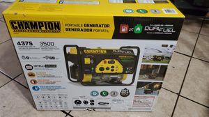 Champion 100307 3500-Watt Dual Fuel RV Ready Portable Generator for Sale in Stockton, CA