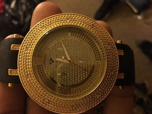 Men's Genuine Diamond Watch for Sale in Philadelphia, PA
