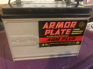Armor Plate AGM PLUS car battery for Sale in Vancouver, WA