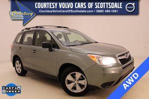 2015 Subaru Forester for Sale in Scottsdale, AZ
