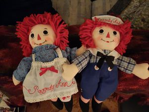 Raggedy Ann and Andy. for Sale in Temecula, CA