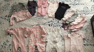 Preemie clothes (girl) and pampers for Sale in Miramar, FL